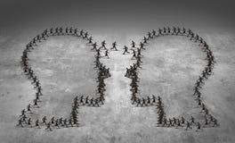 Pracy zespołowej przywódctwo biznesu pojęcie ilustracja wektor