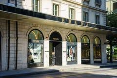 Prada boutique Royalty Free Stock Photo