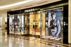 Prada boutique at KLCC, Kuala Lumpur Stock Photos