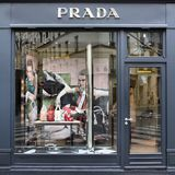 Prada boutique Stock Images