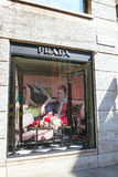 Prada enregistrent Photographie stock