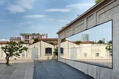 Prada foundation (Fondazione Prada) - Milan, Italy Royalty Free Stock Photography