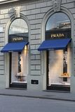 Prada Italië Stock Afbeelding