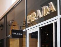 Prada logo Stock Images