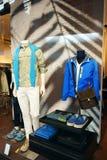 Prada Men fashion showcase luxury boutique Stock Photography