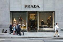 Prada-Opslag Royalty-vrije Stock Foto's