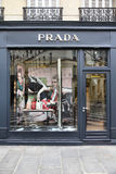 Prada in Paris Stock Photos