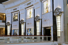 Prada shop. In the famous 101 building, taipei city, taiwan Royalty Free Stock Photos