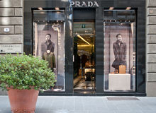 Prada stockent Photo libre de droits