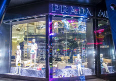 Prada Store Stock Photos