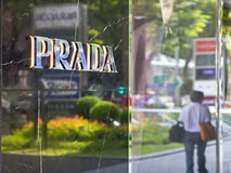 Prada store in Orchard Road Singapore Stock Images