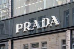 Prada Store Royalty Free Stock Image