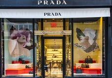 Prada store Royalty Free Stock Images