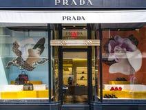 Prada store Stock Images