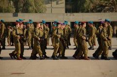 Prade del ejército foto de archivo