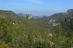 Prades Mountains lizenzfreie stockbilder