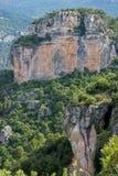 Prades Mountains Immagine Stock Libera da Diritti