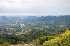 Prades Mountains Stock Photo