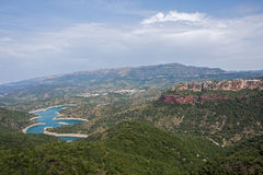 Prades Mountains Royalty Free Stock Photography
