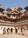 pradesh de palais d'orcha de madhya Images libres de droits