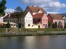 Pradmestse di Troetskae - vecchia parte di Minsk Fotografia Stock