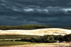 Prado da tempestade Fotografia de Stock