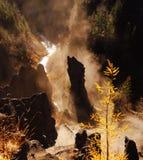 Prado de Bashang en el otoño Fotografía de archivo