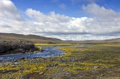 Prado de Landmannalaugar Foto de Stock