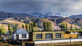 Prado de NaLaTi en Xinjiang, China Fotografía de archivo