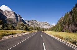 Prado del centinela en el valle de Yosemite Imagen de archivo