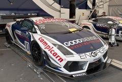 Prado Lamborghini Porto Portugal de WTCC 2011 fotografia de stock