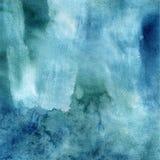 Prado luxúria e turquesa Textura fantástica da mola da aquarela Fotos de Stock