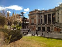 Prado, Madrid Imagem de Stock Royalty Free