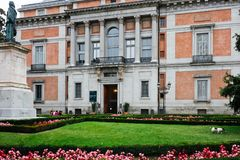 Prado museum Arkivbilder