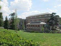 Prado museum Stock Image