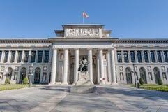 Prado museum i Madrid, Spanien Fotografering för Bildbyråer