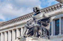 Prado Museum In Madrid, Spain Stock Photography