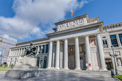 Prado Museum in Madrid, Spain Royalty Free Stock Image