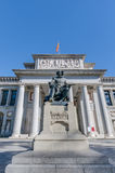 Prado Museum in Madrid, Spain Royalty Free Stock Photos