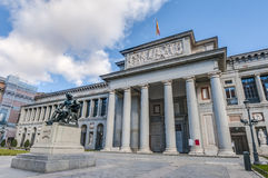 Prado Museum in Madrid, Spain Stock Photos