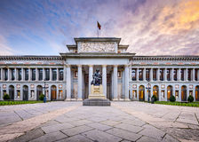 Prado Museum Royalty Free Stock Photo