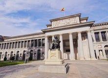 Prado Museum in Madrid Royalty Free Stock Photography