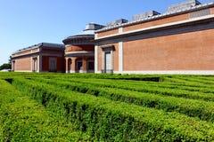 Prado museum, Madrid, Spanien Arkivfoto