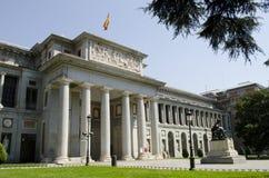 Prado museum. Madrid. Spanien. Arkivbilder