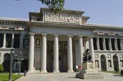 Prado museum. Madrid. Spanien. Arkivfoton