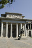 Prado museum. Madrid. Spanien. Royaltyfri Bild