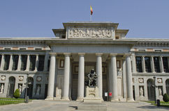 Prado museum. Madrid. Spanien. Royaltyfria Foton