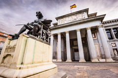Prado Museum in Spain Stock Photography