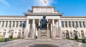 Prado muzeum Museo Del Prado w Madryt Hiszpania zdjęcie royalty free