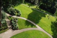 Prado verde luxúria Imagem de Stock Royalty Free